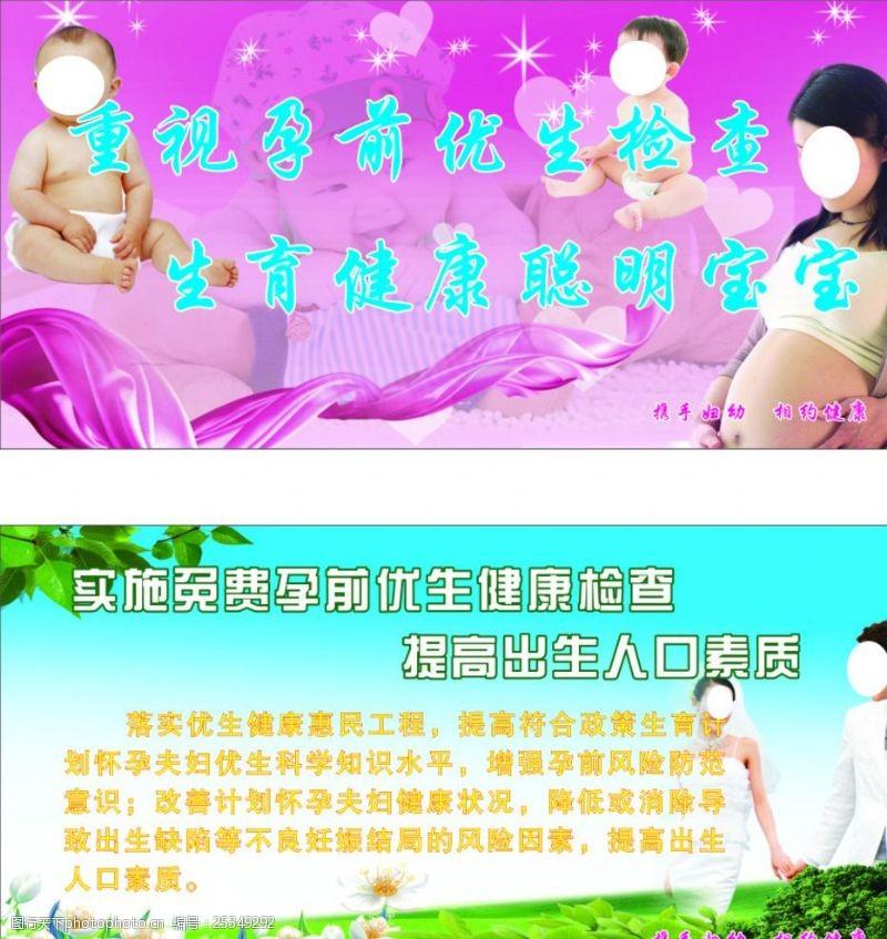孕前优生检查背景