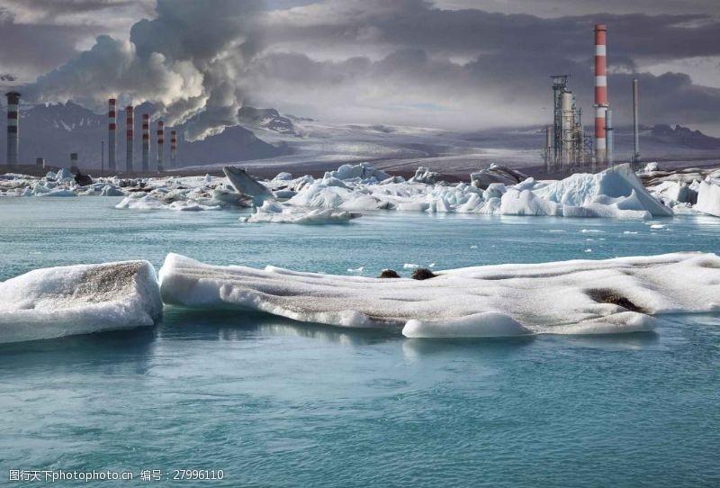 環境污染公益海報