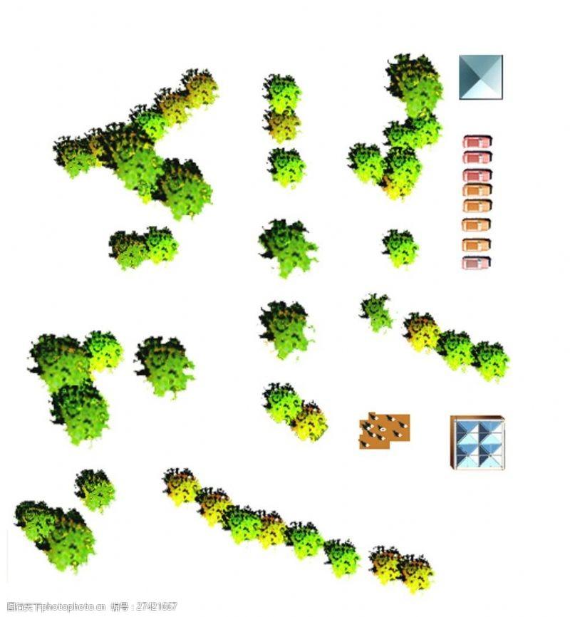 ps平面树图片素材温州办公室装修设计电话图片