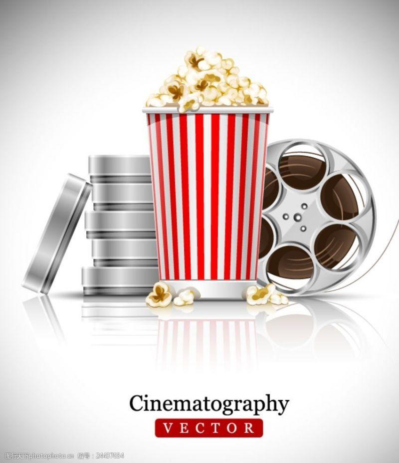 电影票促销电影元素