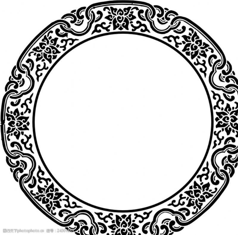适量图案圆形图案