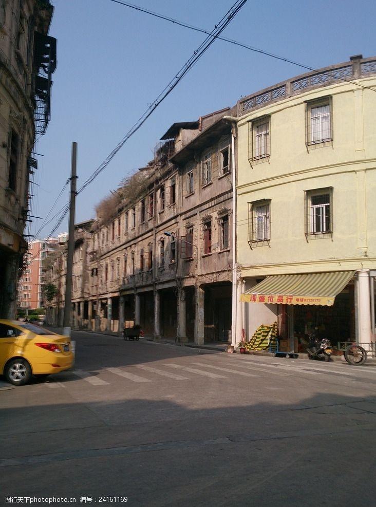 老市区汕头骑楼老街