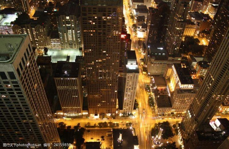芝加哥夜景芝加哥