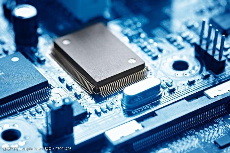 中央处理器电脑CPU图片