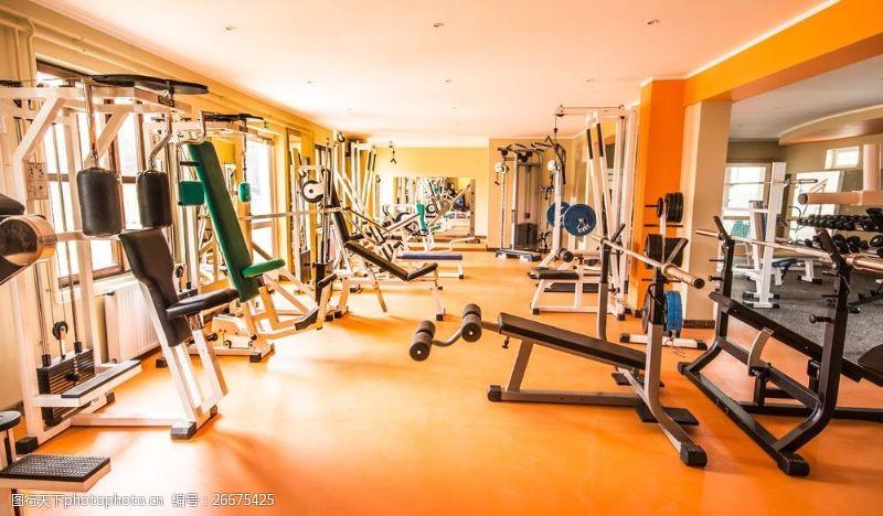 健身房器材图片
