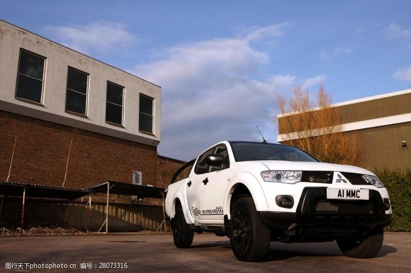 品牌轿车白色三菱轿车图片