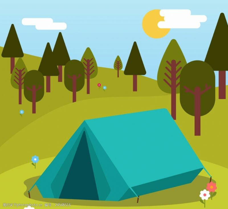 野外运动野营帐篷