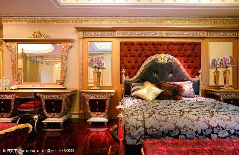 法式风格效果图法式风格高清卧室设计实景图