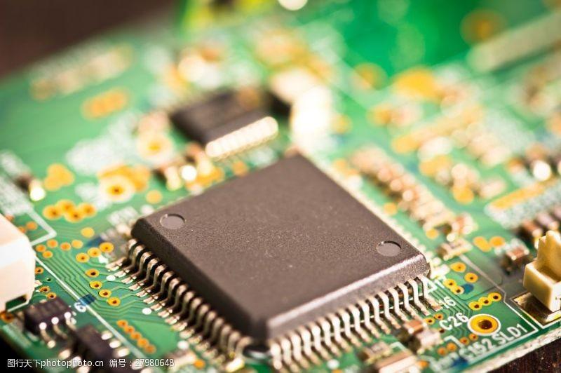 中央处理器电脑主板CPU图片