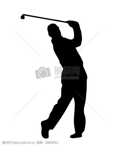 高尔夫挥杆高尔夫