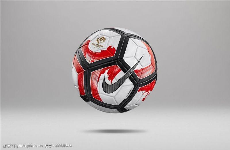 NIKE美洲杯比赛用球宣传广告