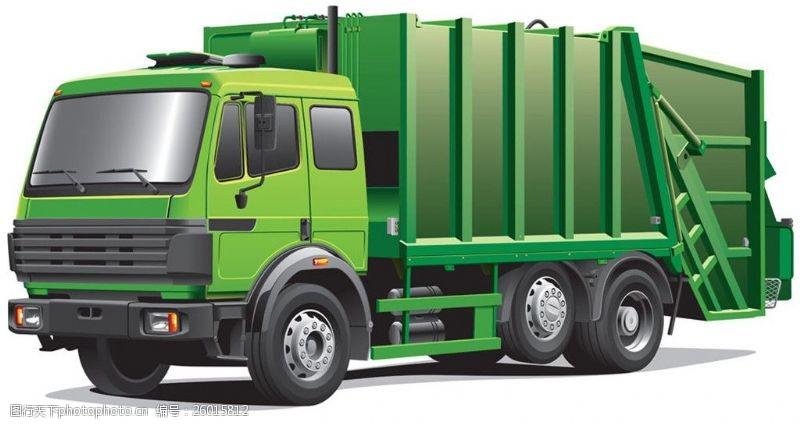 货车模板矢量绿色货车图片图片