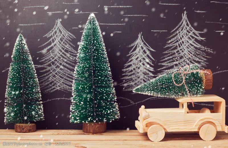 圣诞节饰物海报