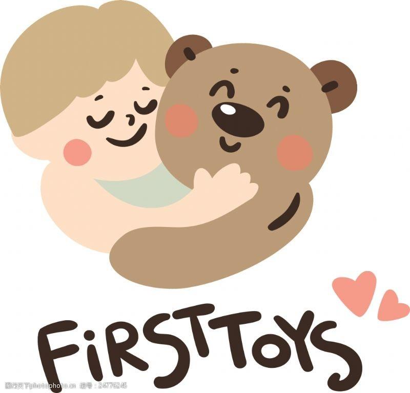 toysFIRSTTOYS可爱卡通动物人物矢量素材