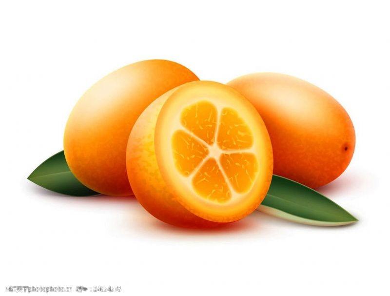 动漫水果卡通橘子漫画图片