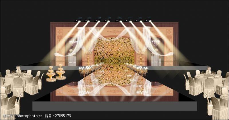 欧式舞台效果图展示