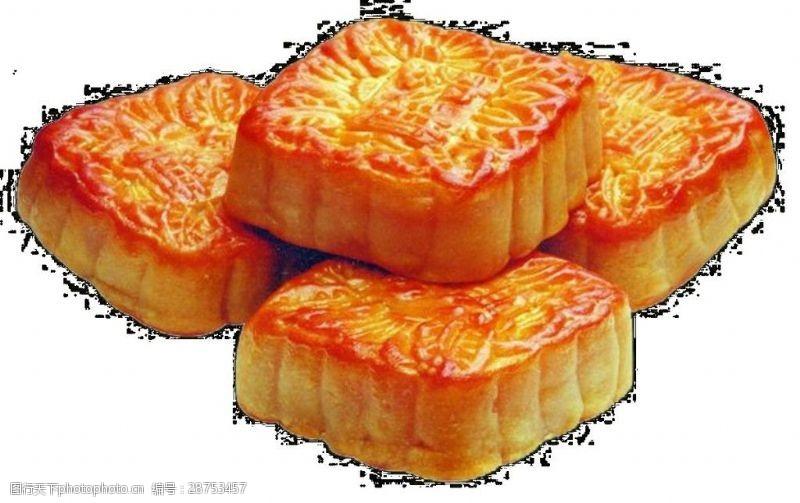 金色中秋月饼矢量素材