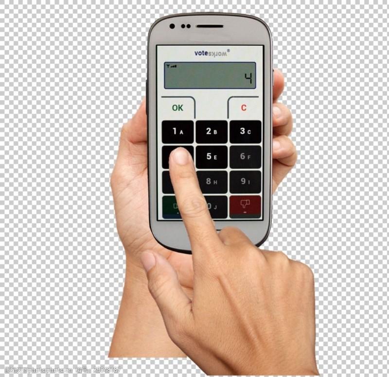 手机图片素材手持智能手机图免抠png透明图层素材