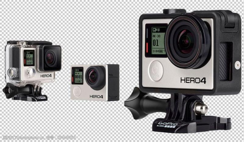 运动相机gopro免抠png透明图层素材