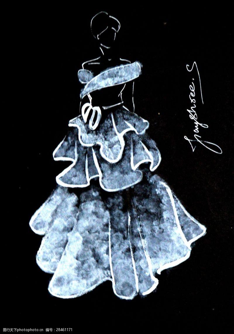 创意服装设计婚纱图片