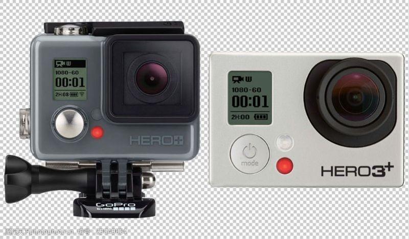 goproGoPro相机免抠png透明图层素材
