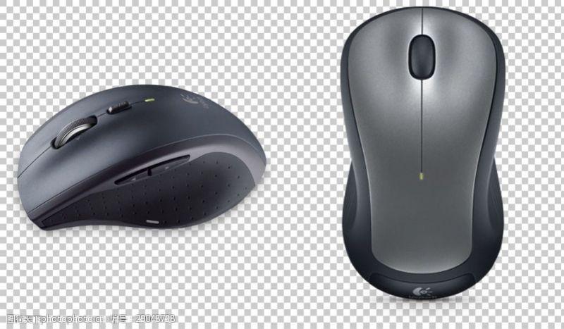 卡通鼠标两个无线鼠标免抠png透明图层素材
