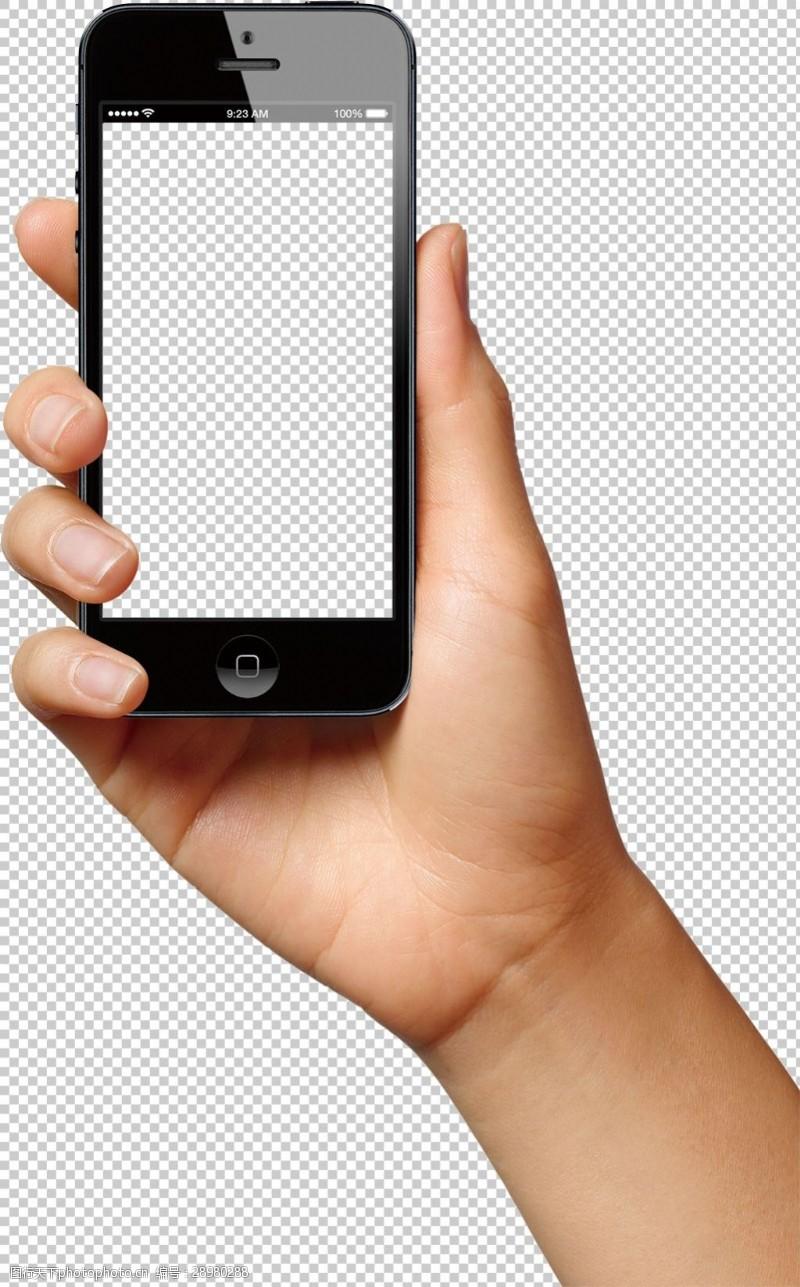 手机图片素材手持智能手机图片免抠png透明图层素材