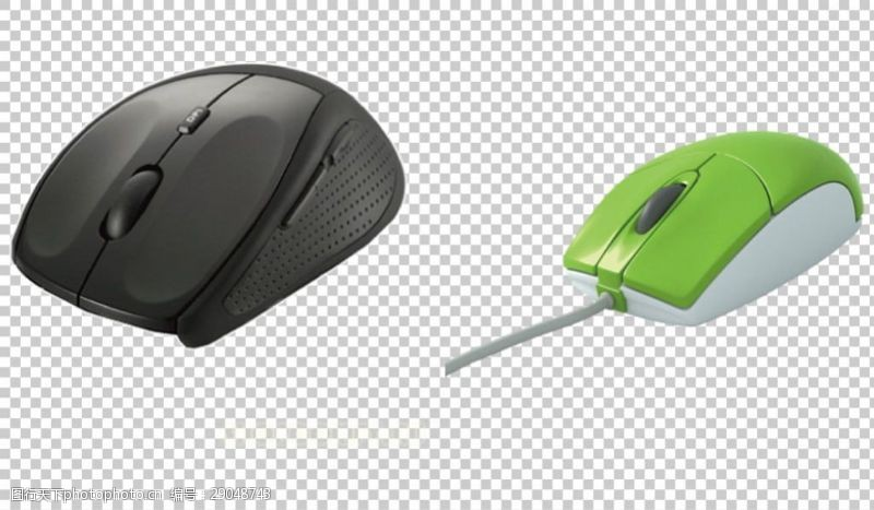 卡通鼠标高清鼠标图免抠png透明图层素材
