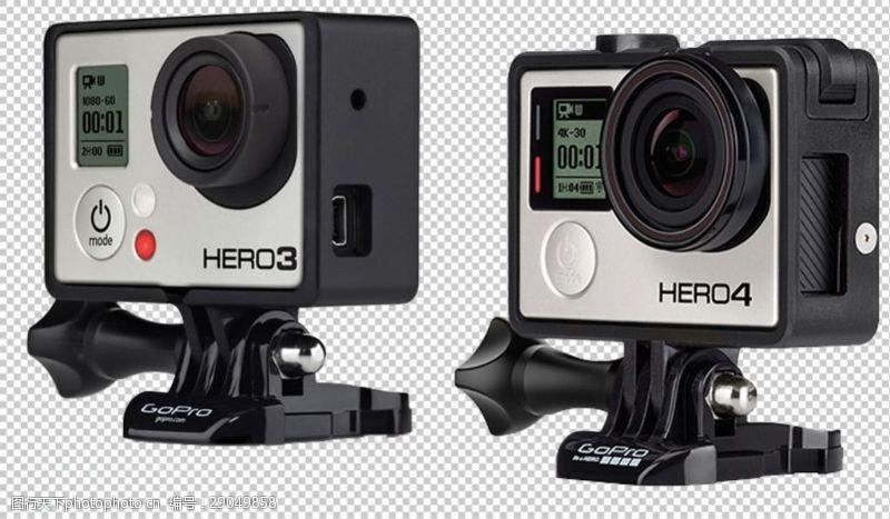 goproGoPro运动相机免抠png透明图层素材
