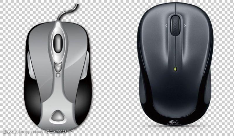 卡通鼠标台式机鼠标免抠png透明图层素材