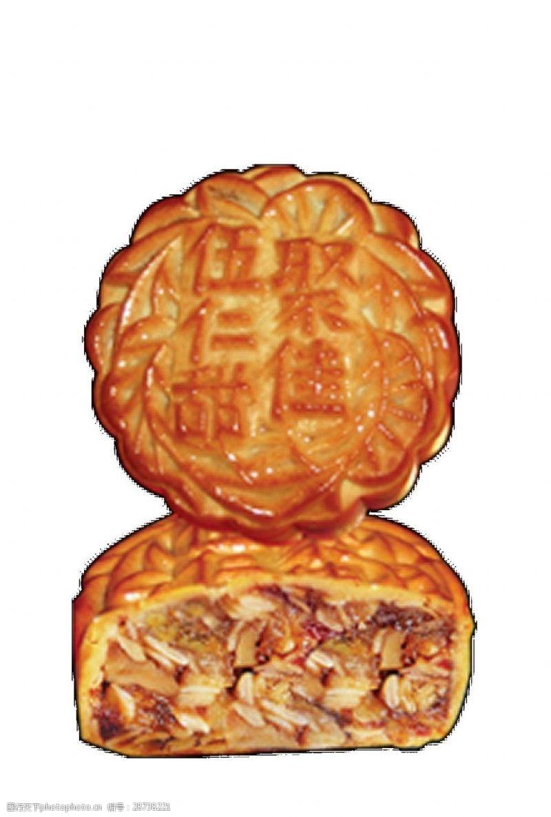 中秋月饼矢量素材图片