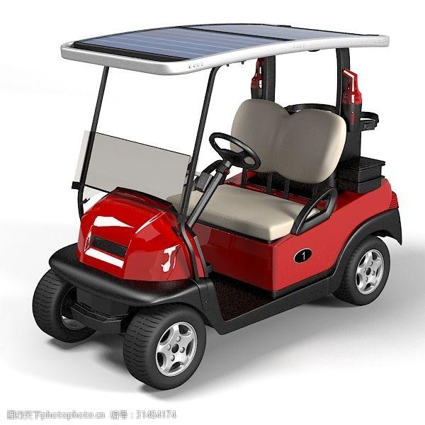 高尔夫车3d模型