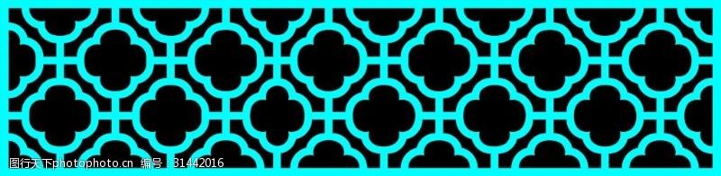 豪华装潢中式镂空图案装饰