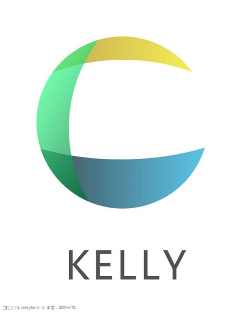 kelly三色球企业组织logo