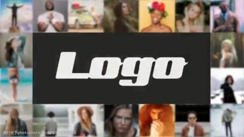 图文展示相册LOGO演绎AE模板